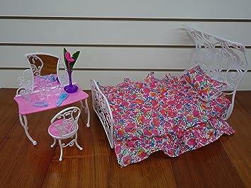 barbie size dollhouse furniture set. Barbie Size Dollhouse Furniture- Sweet Dream Bed Room Play Set Furniture
