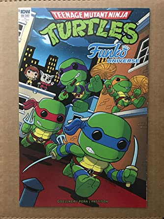 Teenage Mutant Ninja Turtles Funko Universe #1 2017 IDW ...