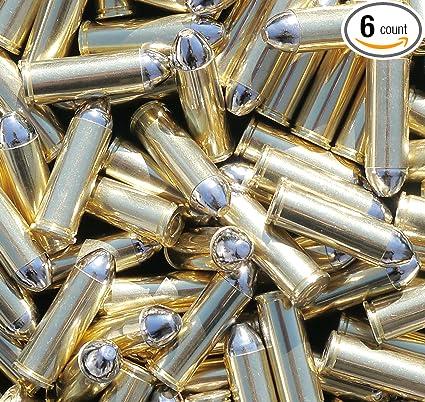 Amazon.com: Latón Colt 45 réplica balas – 25 pistola ...