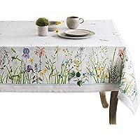 Maison d' Hermine Fleurs De Mai 100% Cotton Tablecloth 54 Inch by 54 Inch.