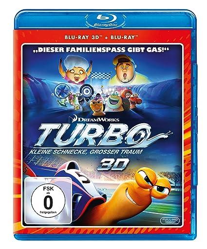 Turbo - Kleine Schnecke, großer Traum + Blu-ray 2D Alemania Blu-ray: Amazon.es: David Soren: Cine y Series TV