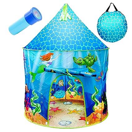 Amazon.com: Tienda de campaña para niños de USA Toyz Under ...