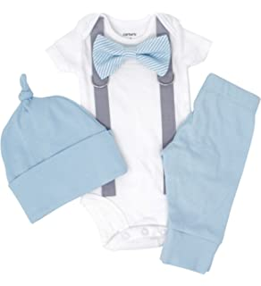 70a81bfd1 Cuddle Sleep Dream Cute Newborn Baby Boy Clothes. Baby Blue Coming Home  Outfit