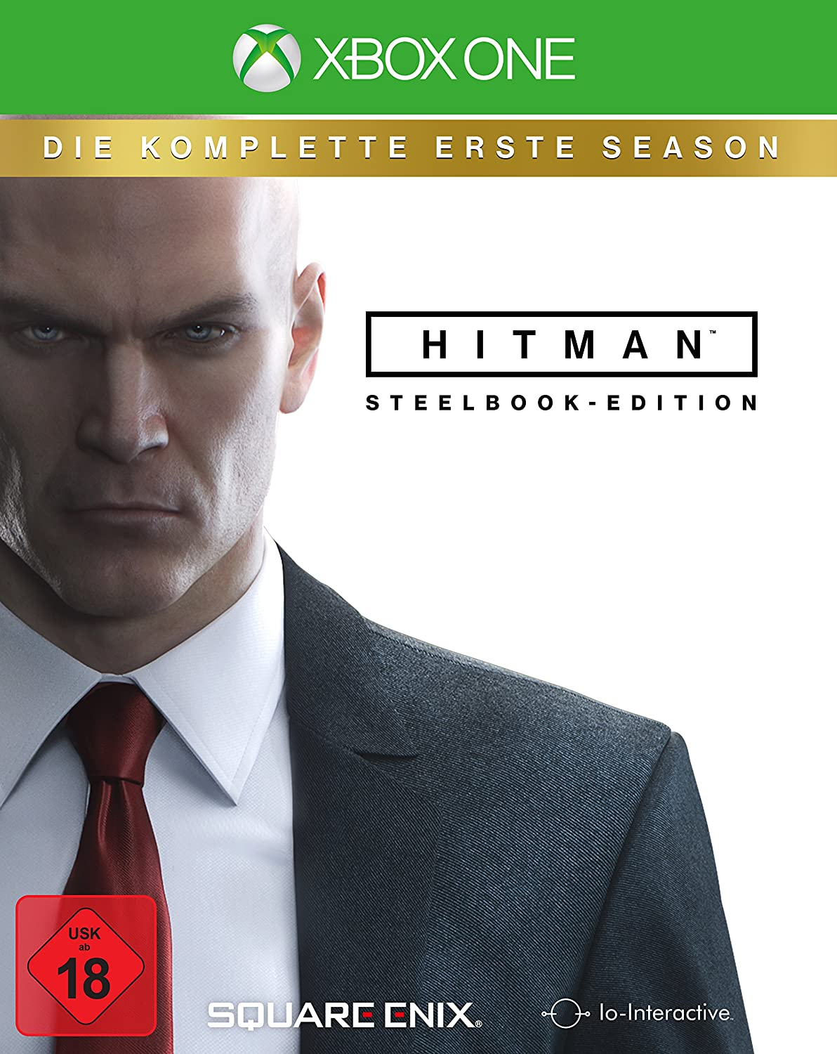 Hitman Steelbook Xbox One amazon