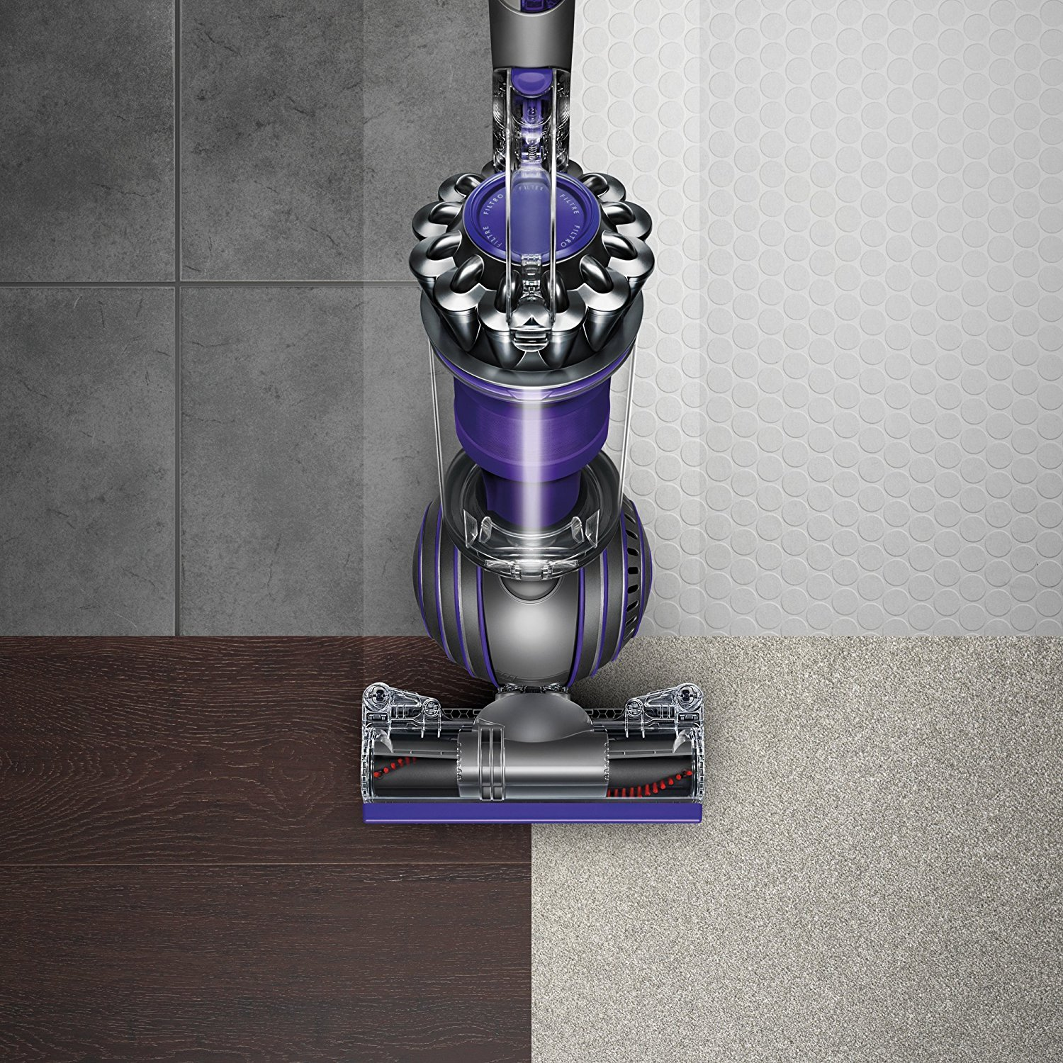 Dyson Ball Animal 2 Upright Vacuum, Iron/Purple (Certified Refurbished) by Dyson (Image #4)