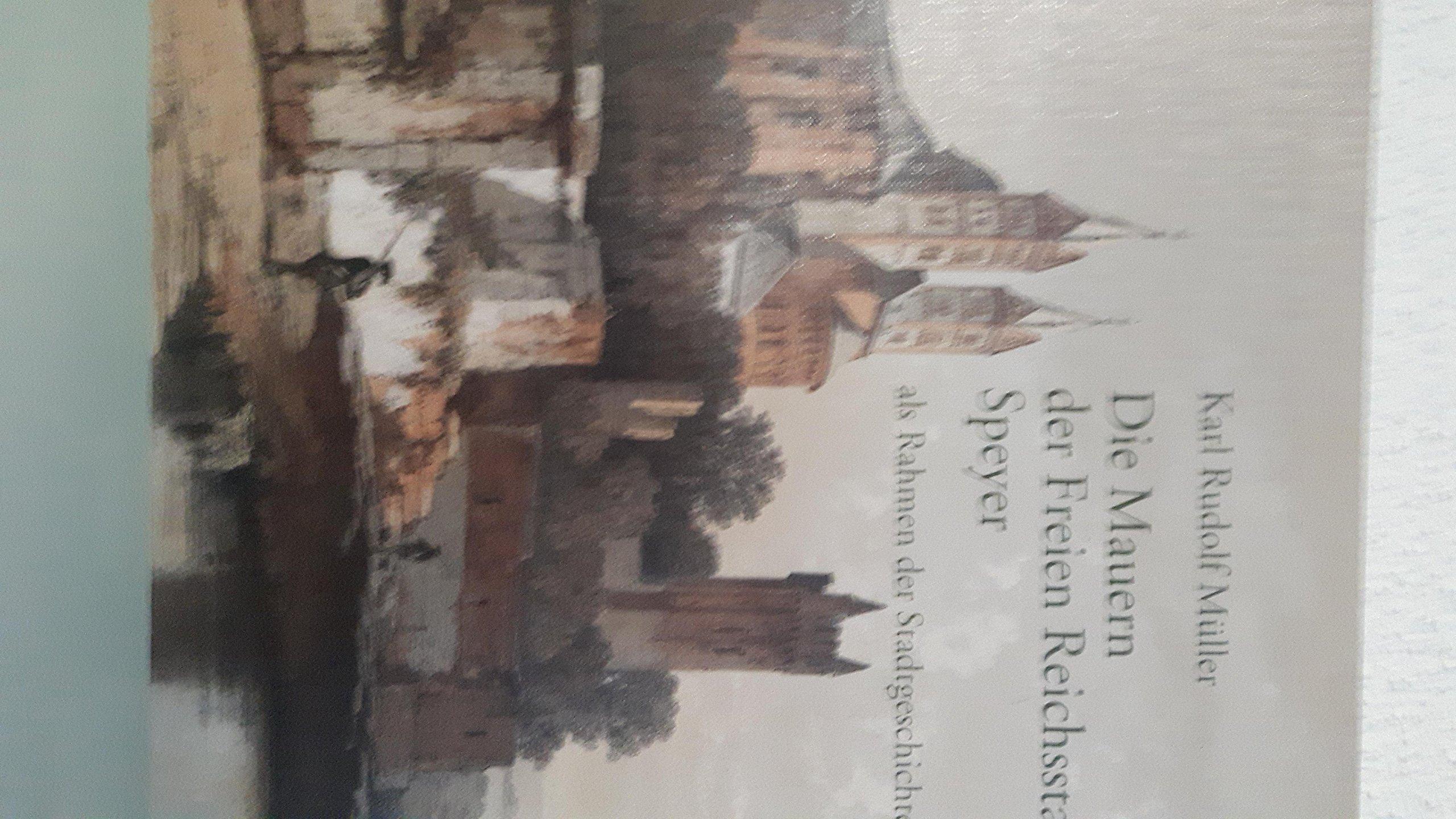 Die Mauern der Freien Reichsstadt Speyer als Rahmen der ...