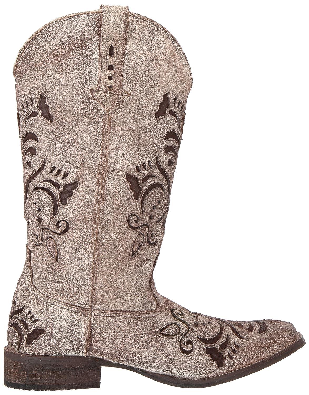 Roper Women's Belle Western Boot B06WWHQLXT 6.5 B(M) US|Tan