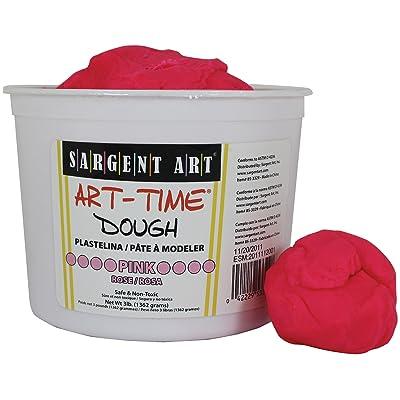 Sargent Art 85-3329 3-Pound Art-Time Dough, Pink: Arts, Crafts & Sewing