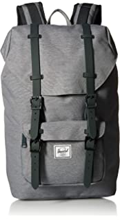 a50b78e58cf2 Herschel Little America Mid-Volume Backpack Grey Crosshatch