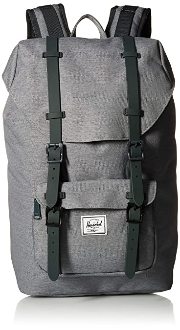 b001f599b73 Herschel Backpack Little America Mid Volume Classics Mid Backpacks  Polyester 17 l  Amazon.co.uk  Shoes   Bags