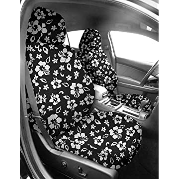 best selling CalTrend Front Row Sport Bucket Custom Fit Seat Cover for Select Toyota Tacoma Models - NeoSupreme