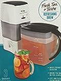 Mr. Coffee Iced Tea Maker 3 Quart with Brew Strength Selector (Black)