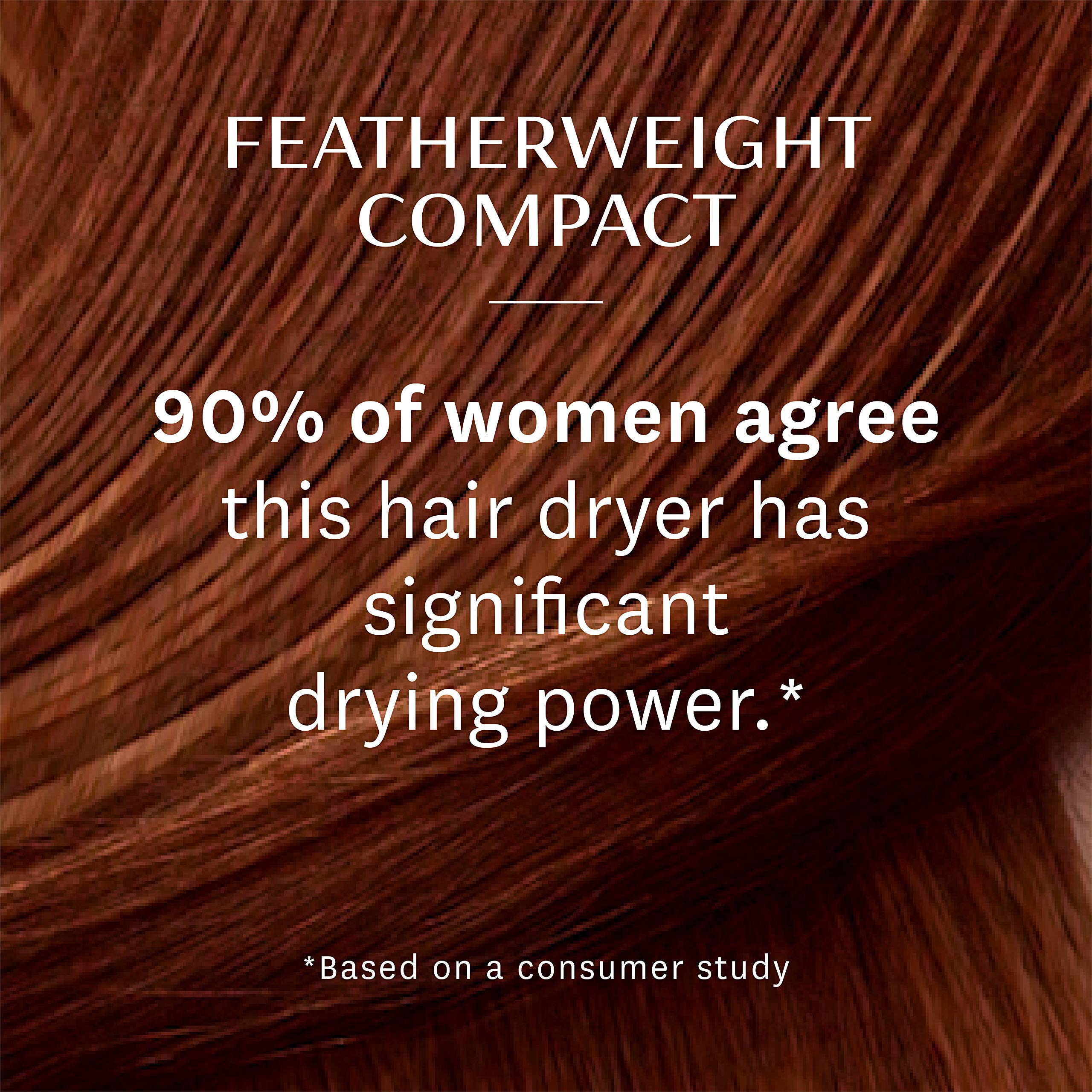 T3 - Featherweight Compact Folding Hair Dryer | Lightweight & Portable Dual Voltage Travel Hair Dryer | T3 SoftAire Technology for Fast, Healthy, and Frizz-Free Blow Drying | Includes Storage Bag by T3 Micro (Image #5)