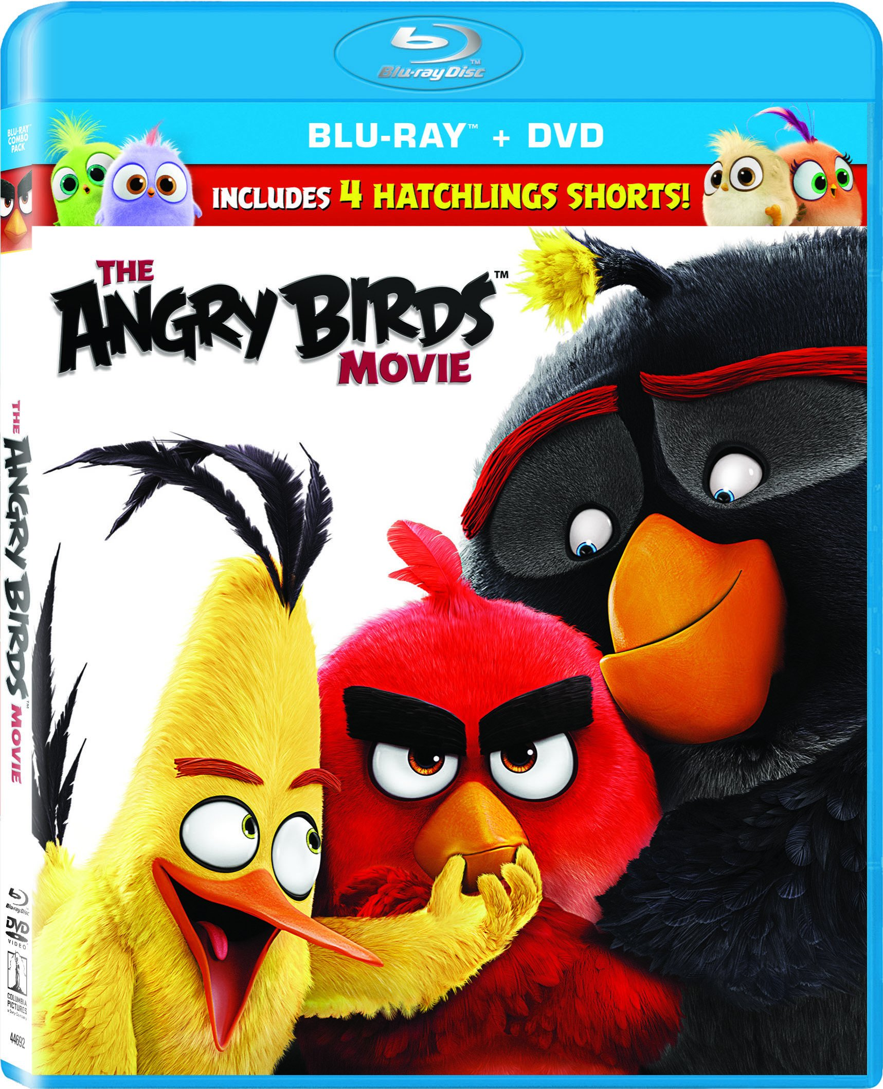 Blu-ray : The Angry Birds Movie (With DVD, Ultraviolet Digital Copy, , Widescreen, Dolby)