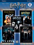 Harry Potter, Instrumental Solos (Movies 1-5): Clarinet (Book & CD)