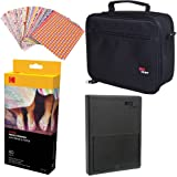 "Kodak Dock Paper Cartridge Bundle + Deluxe Case + 4x6"" Album + Sticker Frames"