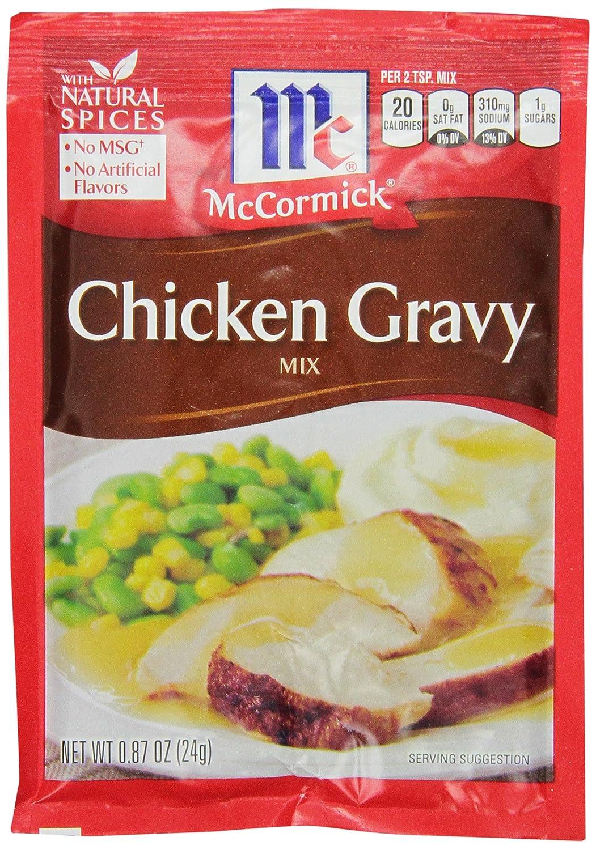 McCormick Chicken Gravy Mix, 0.87 oz (Case of 24)