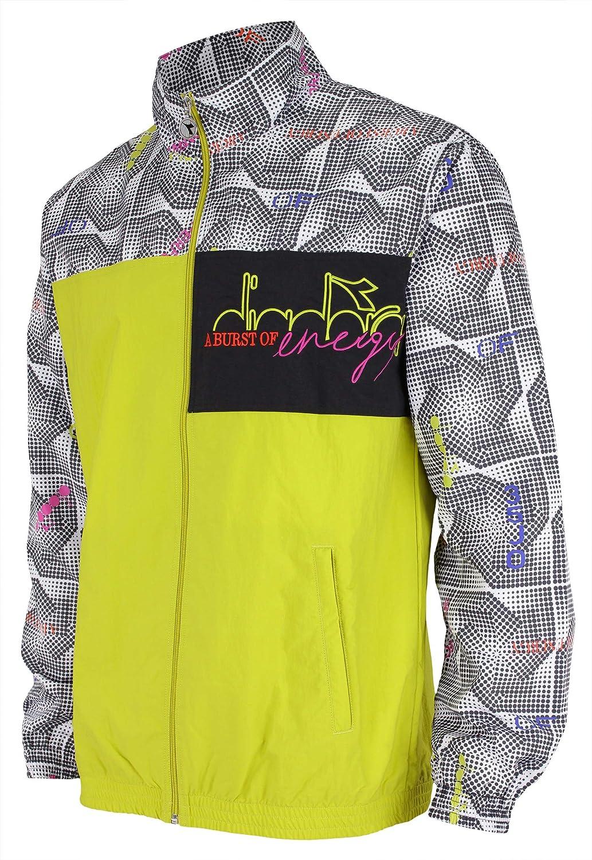 Aventurero cometer Abundantemente  Amazon.com: Diadora Men's Bella VITA II Full Zip Wind Jacket: Clothing