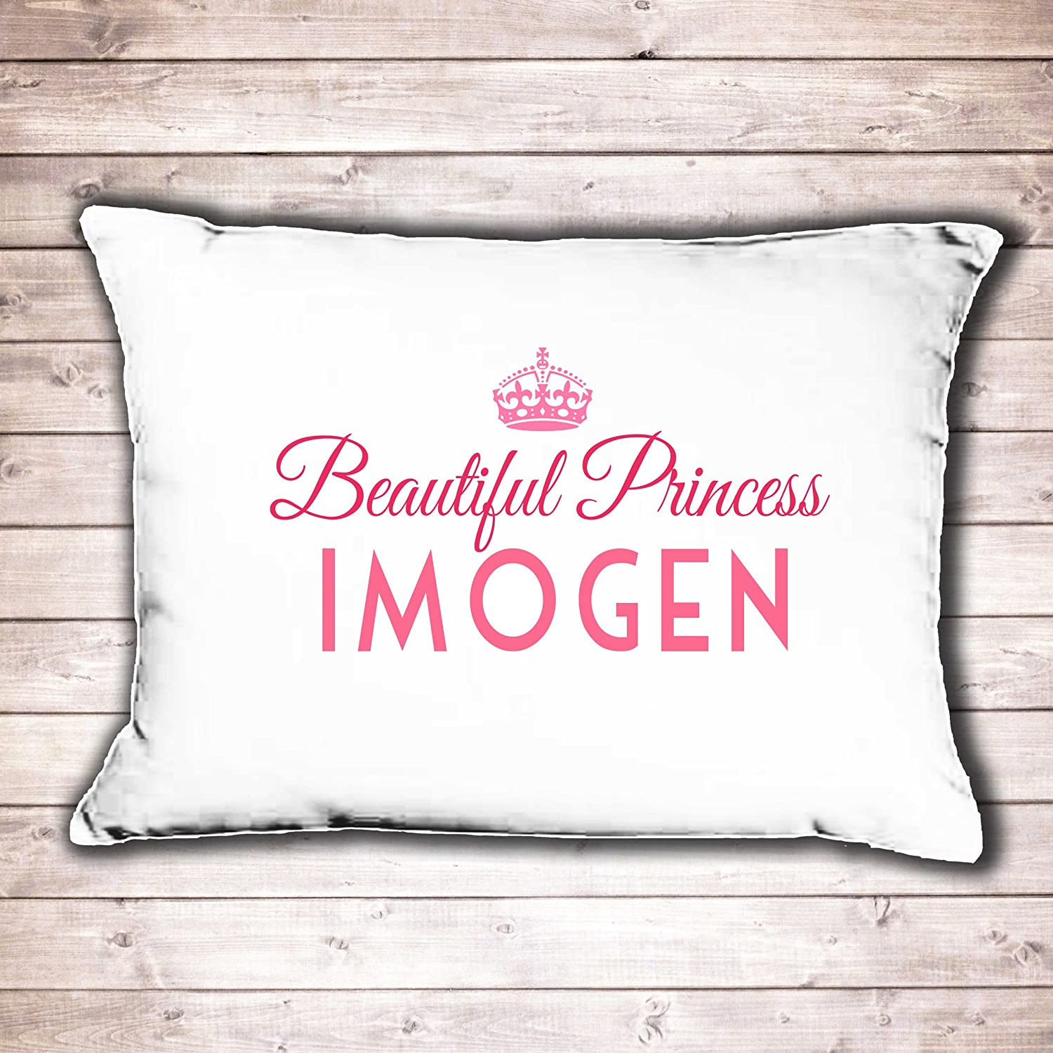 Personalised pillow case girls Princess design perfect birthday gift: Amazon.co.uk: Kitchen \u0026 Home