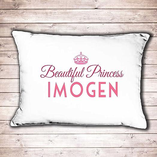 Design Own Pillowcase Uk: Personalised pillow case girls Princess design perfect birthday    ,