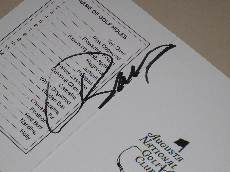 3975dca3b08 Jordan Spieth PGA signed Autographed Masters Scorecard - 2015 Winner - PSA  COA at Amazon s Sports Collectibles Store