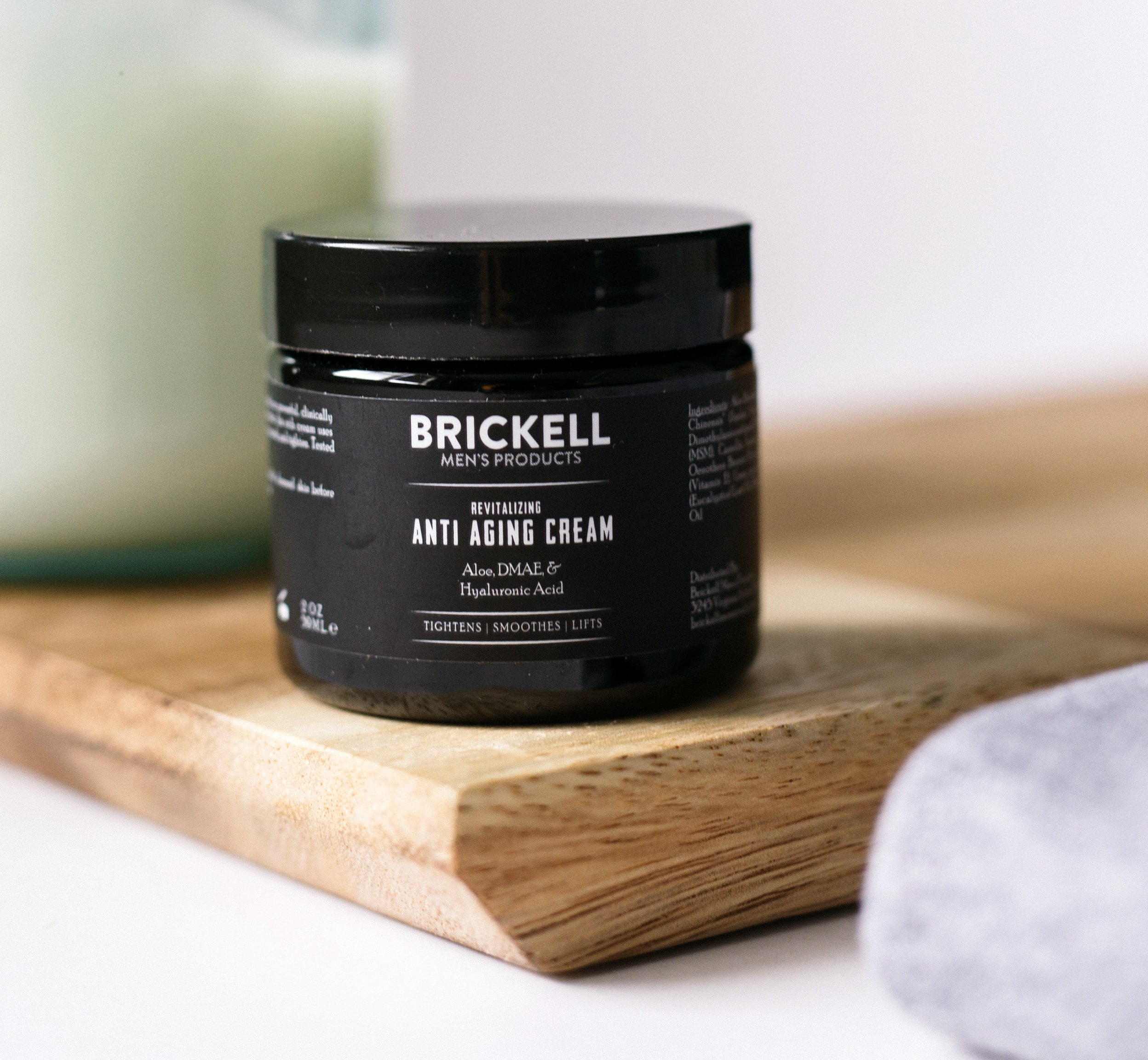 Brickell Men's Revitalizing Anti-Aging Cream For Men, Natural and Organic Anti Wrinkle Night Face Cream To Reduce Fine Lines and Wrinkles, 2 Ounce, Scented by Brickell Men's Products (Image #5)