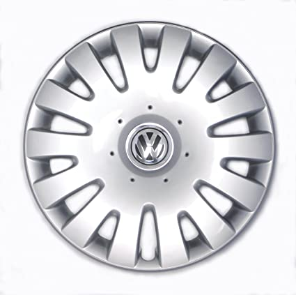 Image Unavailable. Image not available for. Color: Genuine VW Hubcap ...