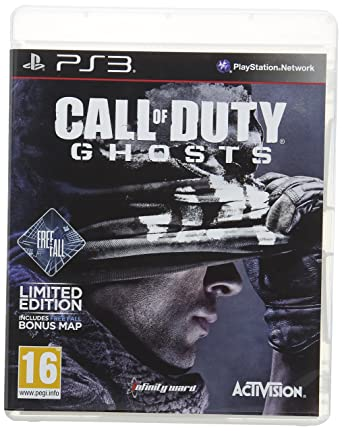 Call Of Duty Ghosts PS3 Game Amazoncouk PC Video Games