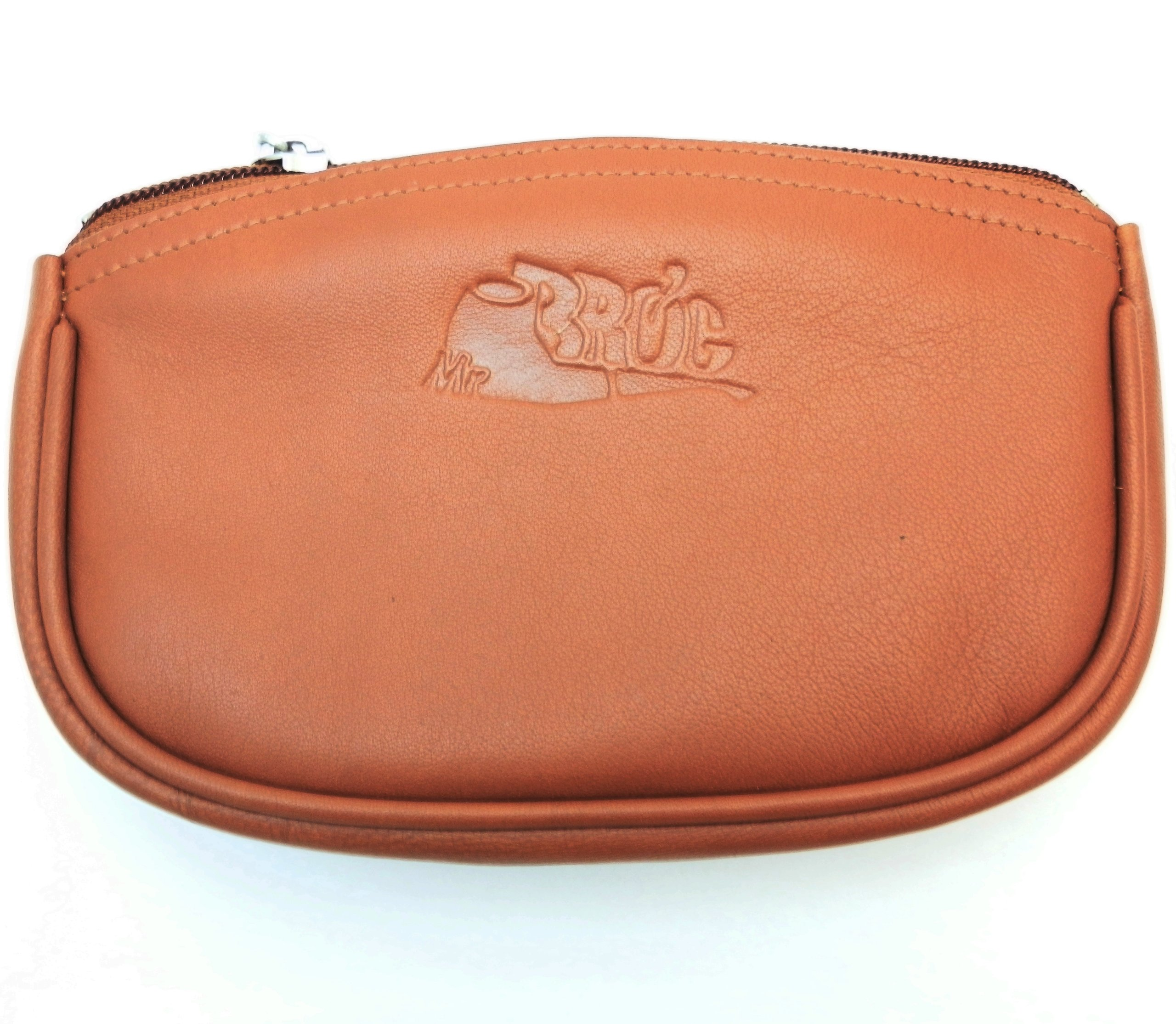 Sheep Napa Leather Tobacco Pouch with Rubber Lining to Preserve Freshness