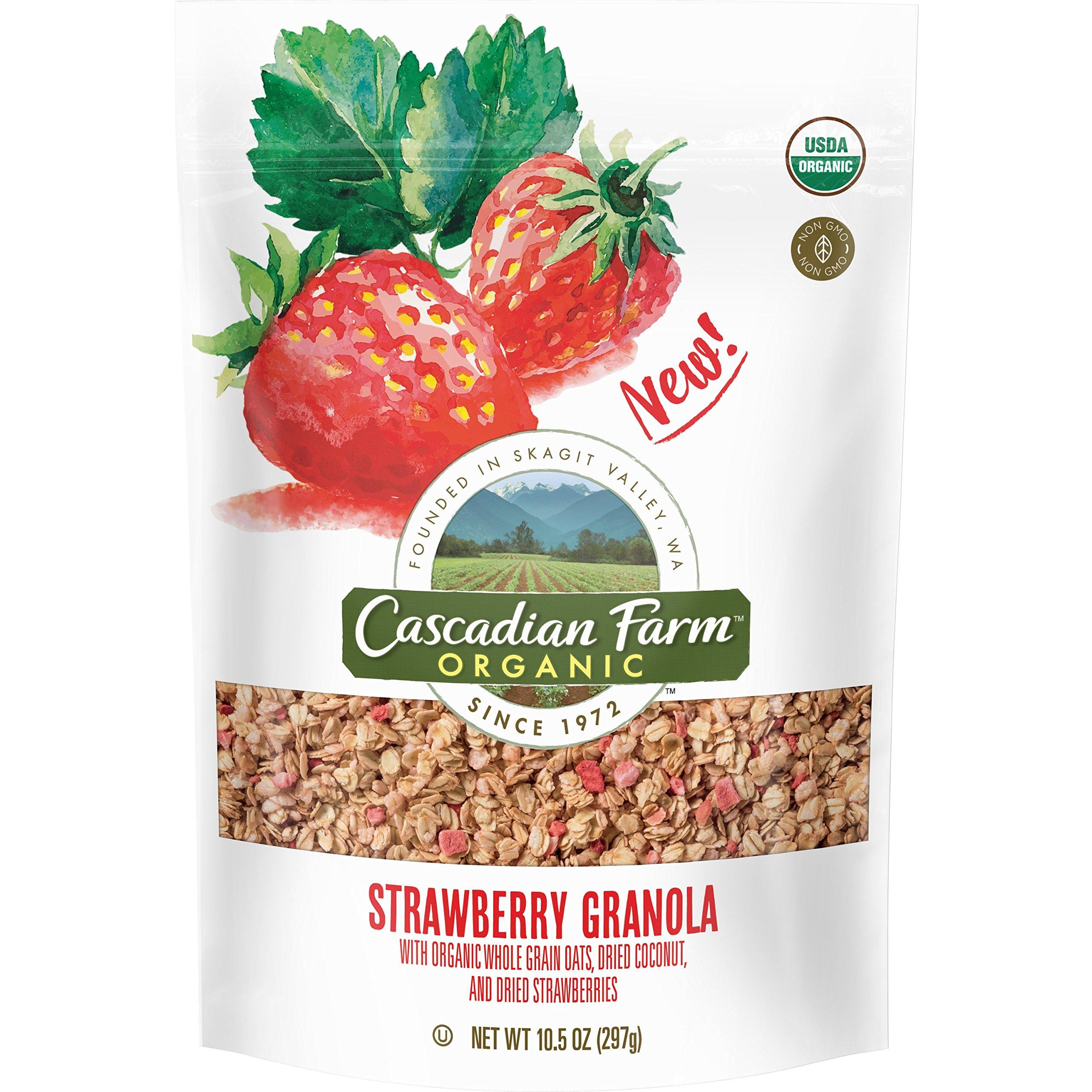 Amazon.com: Cascadian Farm Lemon Blueberry Granola, 11.5 Oz: