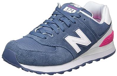 New Balance 574 Suede, Zapatillas para Mujer: Amazon.es: Zapatos y complementos