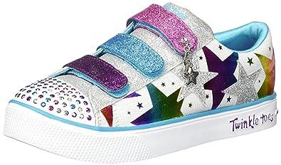 Skechers Kids' Twinkle Breeze 2.0 stylin'sta Sneaker
