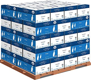 product image for Hammermill Printer Paper, 20 lb Copy Paper, 8.5 x 11 - 1 Pallet, 40 Cases (200,000 Sheets) - 92 Bright, Made in the USA