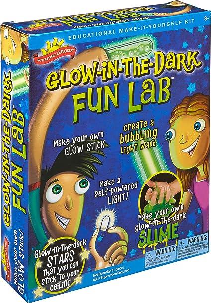 Scientific Explorer Glow in The Dark Fun Lab Learning & Education ...