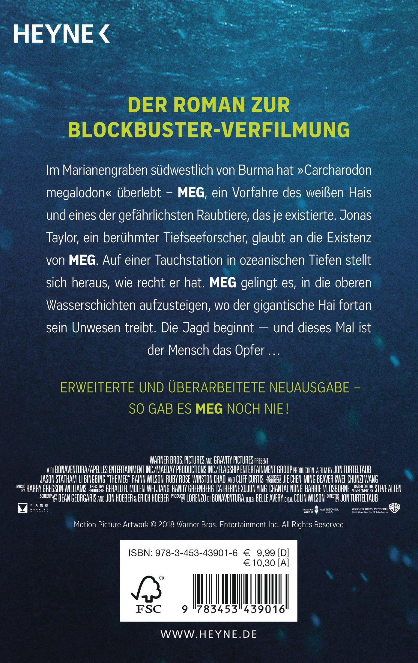 MEG: Roman: Amazon.de: Steve Alten, Bernhard Kleinschmidt: Bücher