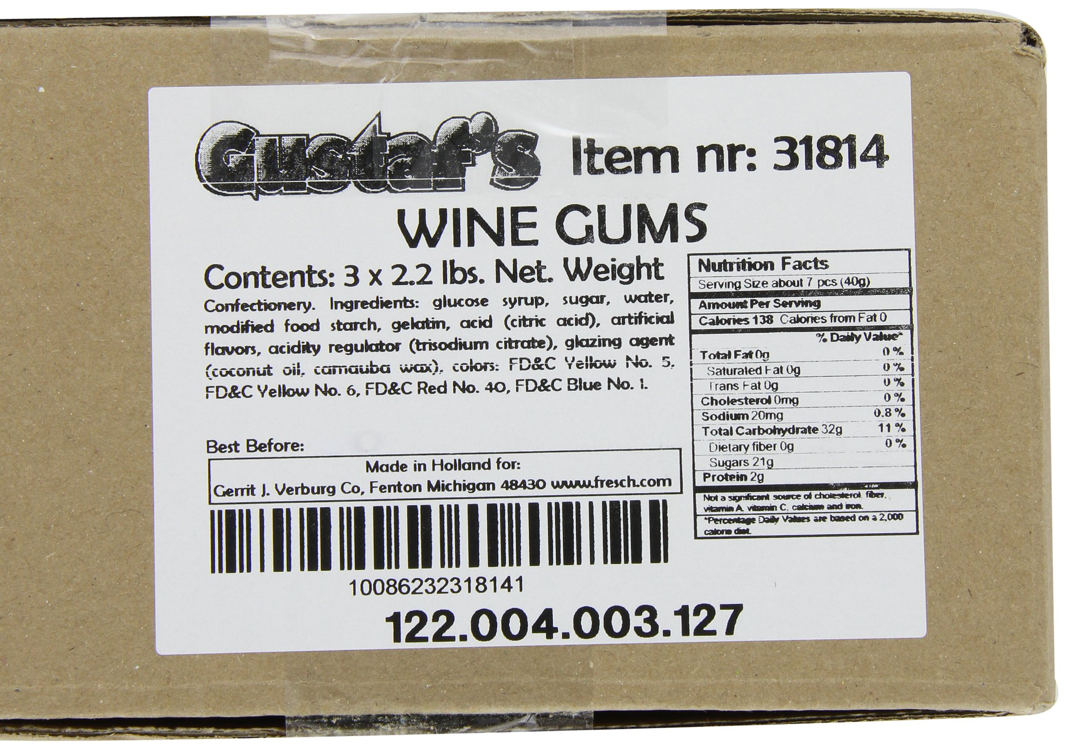 Gustaf's Wine Gums, 2.2 Pound Bags (Pack of 3) by Gustaf's (Image #5)