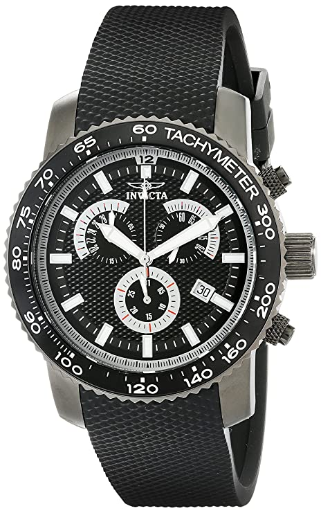 Amazon.com: Invicta Mens 17776 Specialty Analog Display Swiss Quartz Black Watch: Watches