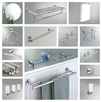 gatco bathroom accessories. Gatco Latitude II Collection Bathroom Accessories 5