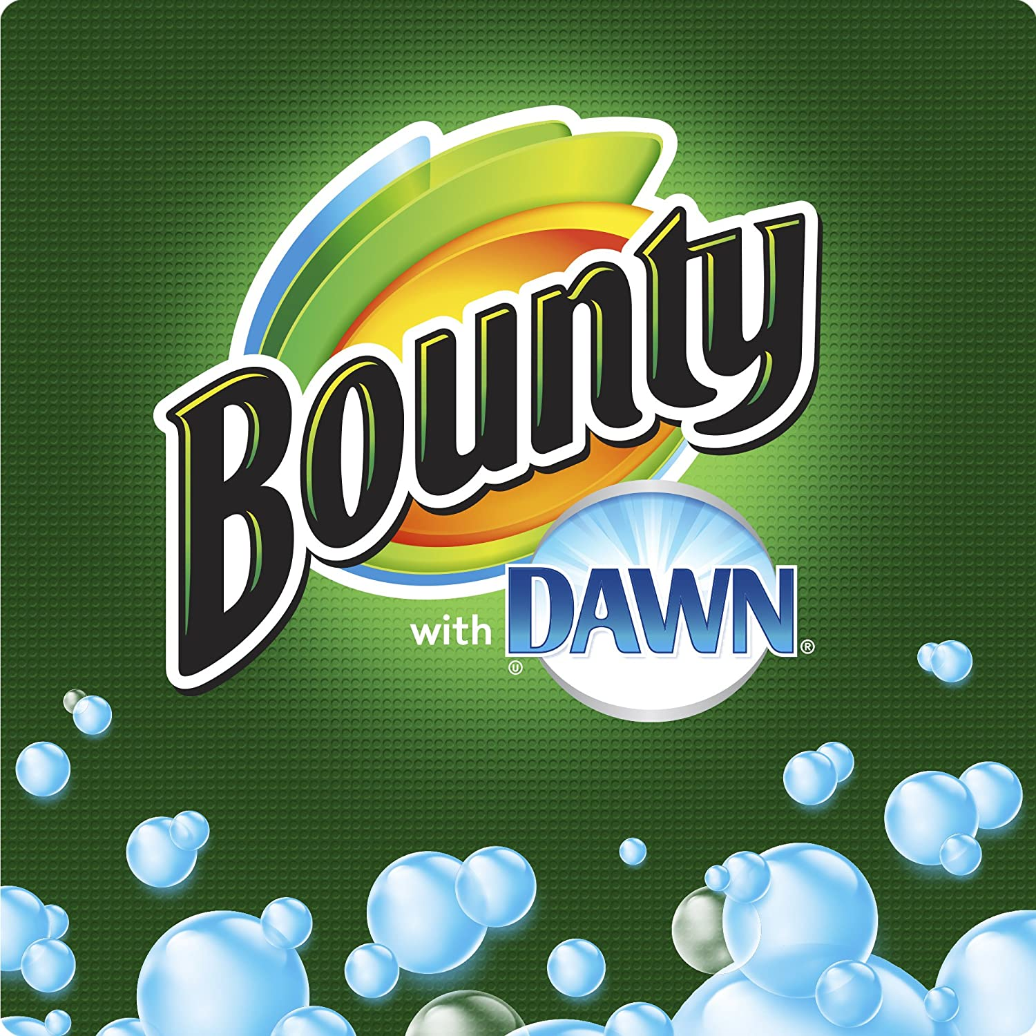 Amazon.com : Bounty with Dawn, White, Large Rolls, 3 Ct : Grocery & Gourmet Food