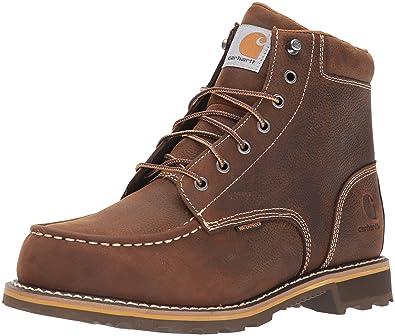 5fc02062fc13 Carhartt Men s 6 quot  Lug Bottom Moc Soft Toe CMW6197 Industrial Boot