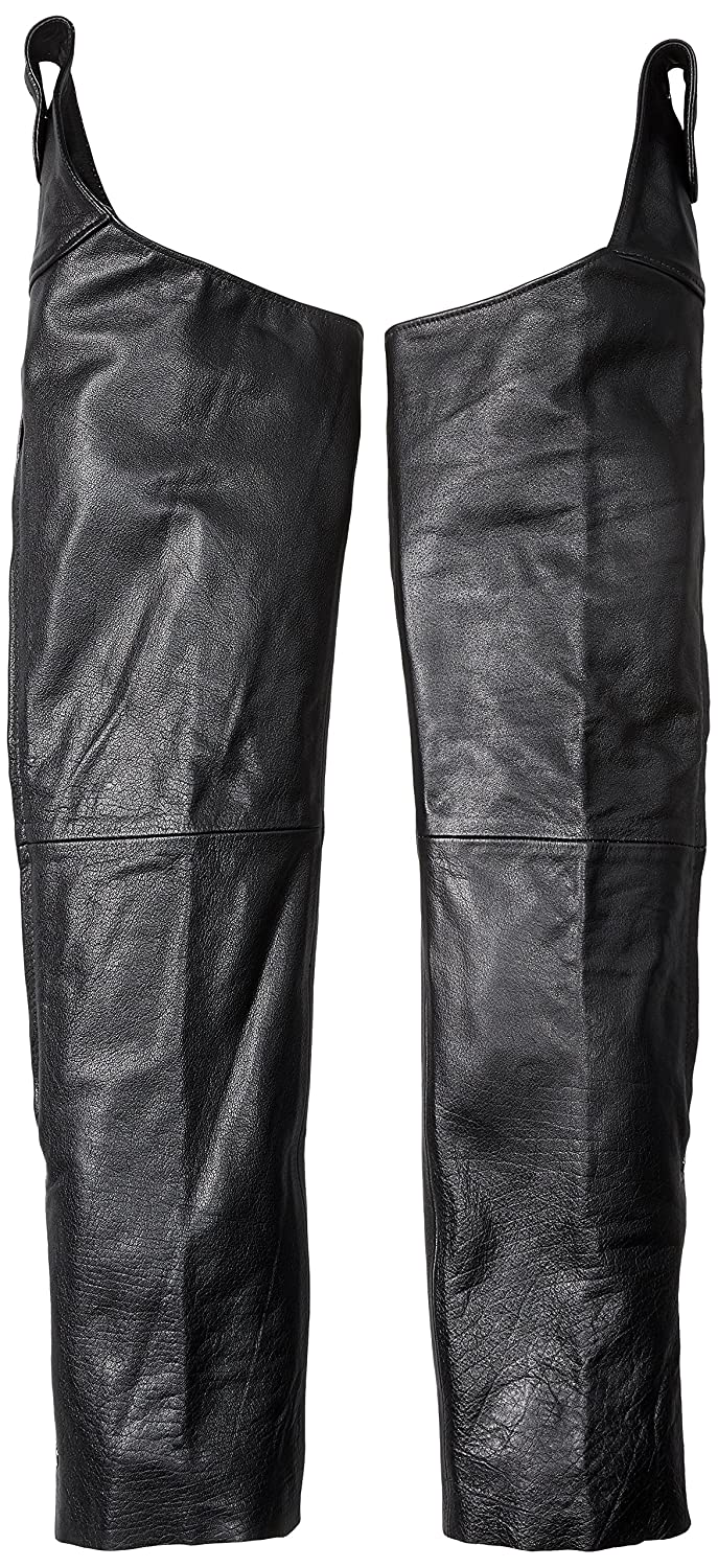Milwaukee Leather Beltless Chaps Black, Large