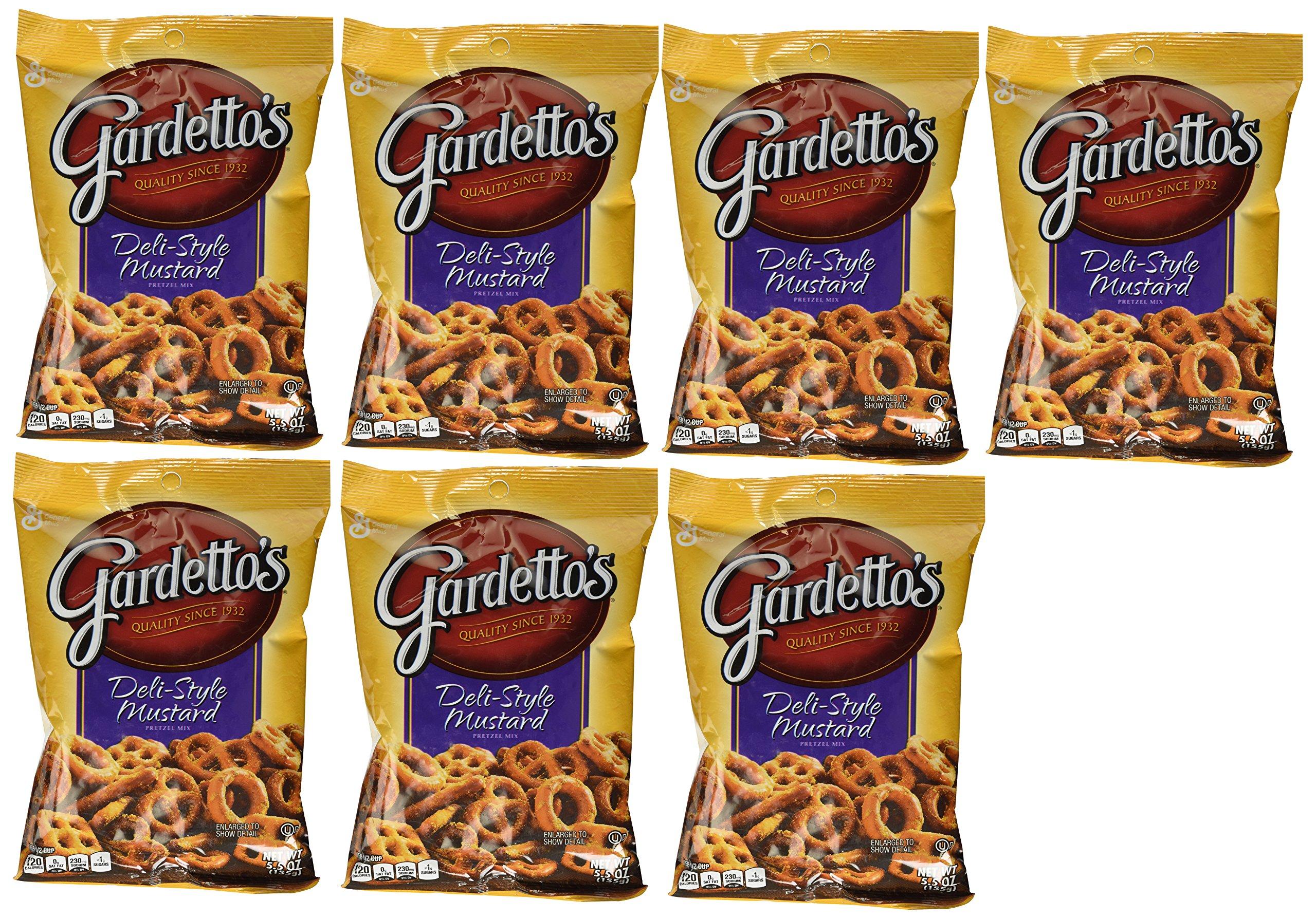 Gardetto's Deli Style Mustard Pretzel Snack Mix, 5.5oz each (7 Count)