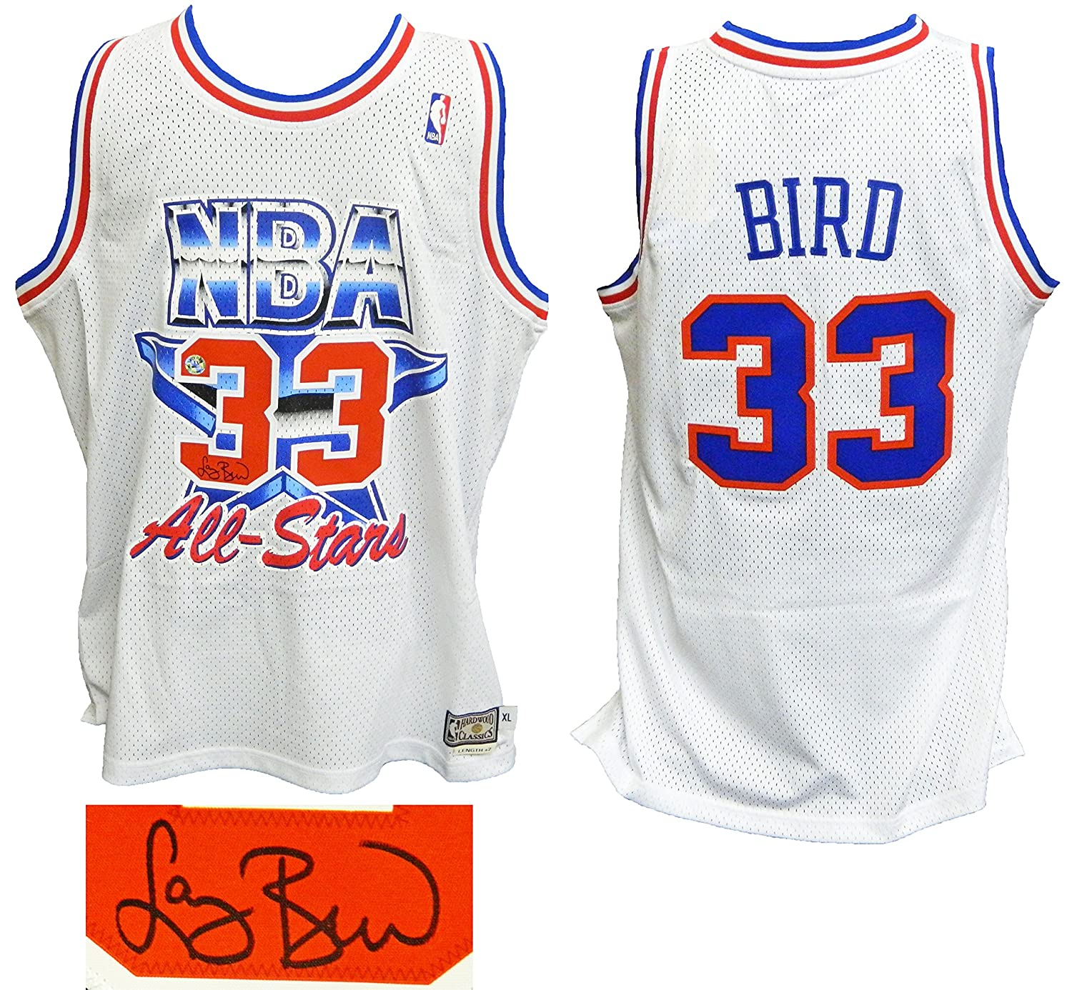 Larry Bird Signed 1992 All Star Game Official Adidas White Throwback  Swingman Jersey at Amazon s Sports Collectibles Store 7cde7f957
