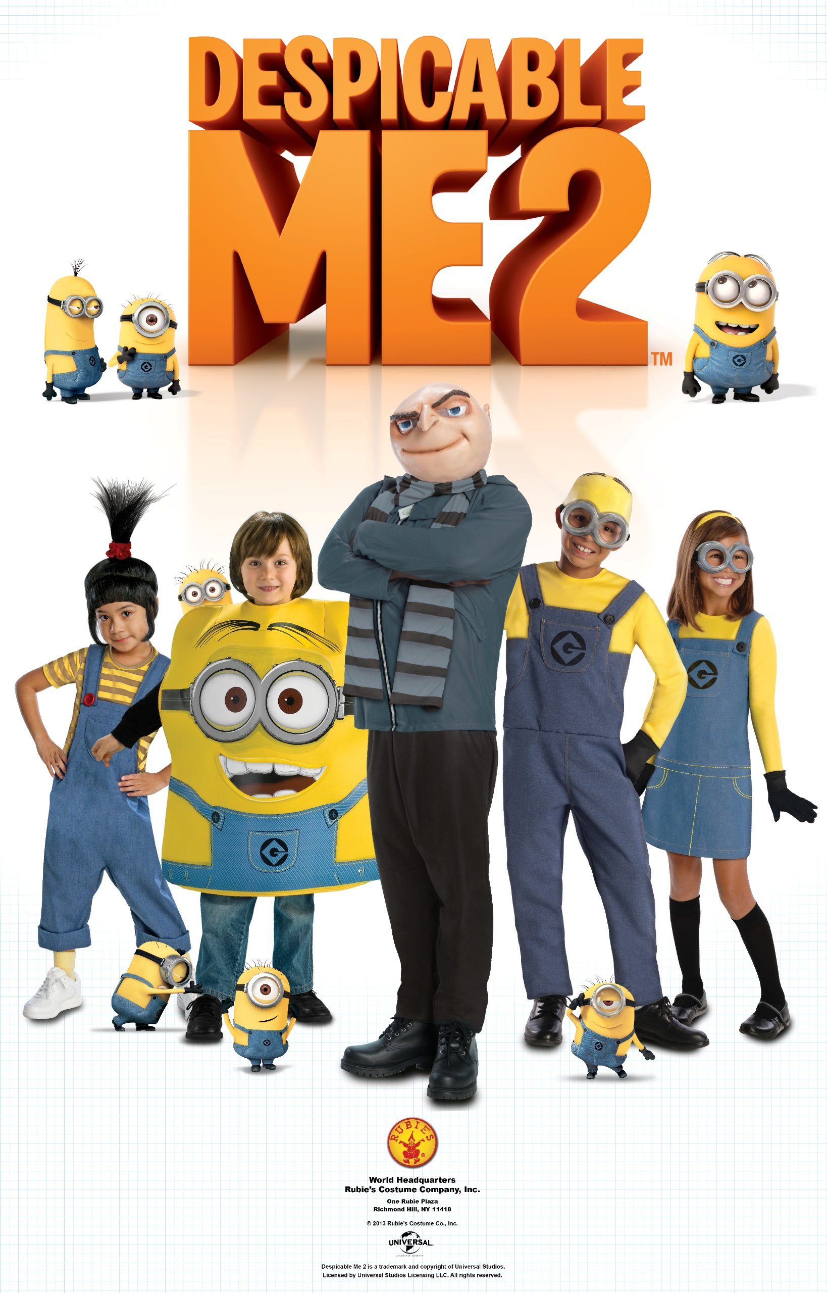 Rubie's Despicable Me 2, Gru and Mask, Multicolor, Standard by Rubie's (Image #3)