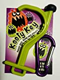 Kooty Key Germ Utility Tool- Avoid Touching Bacteria Ridden Surfaces- Carabiner Included (Colors May Vary)
