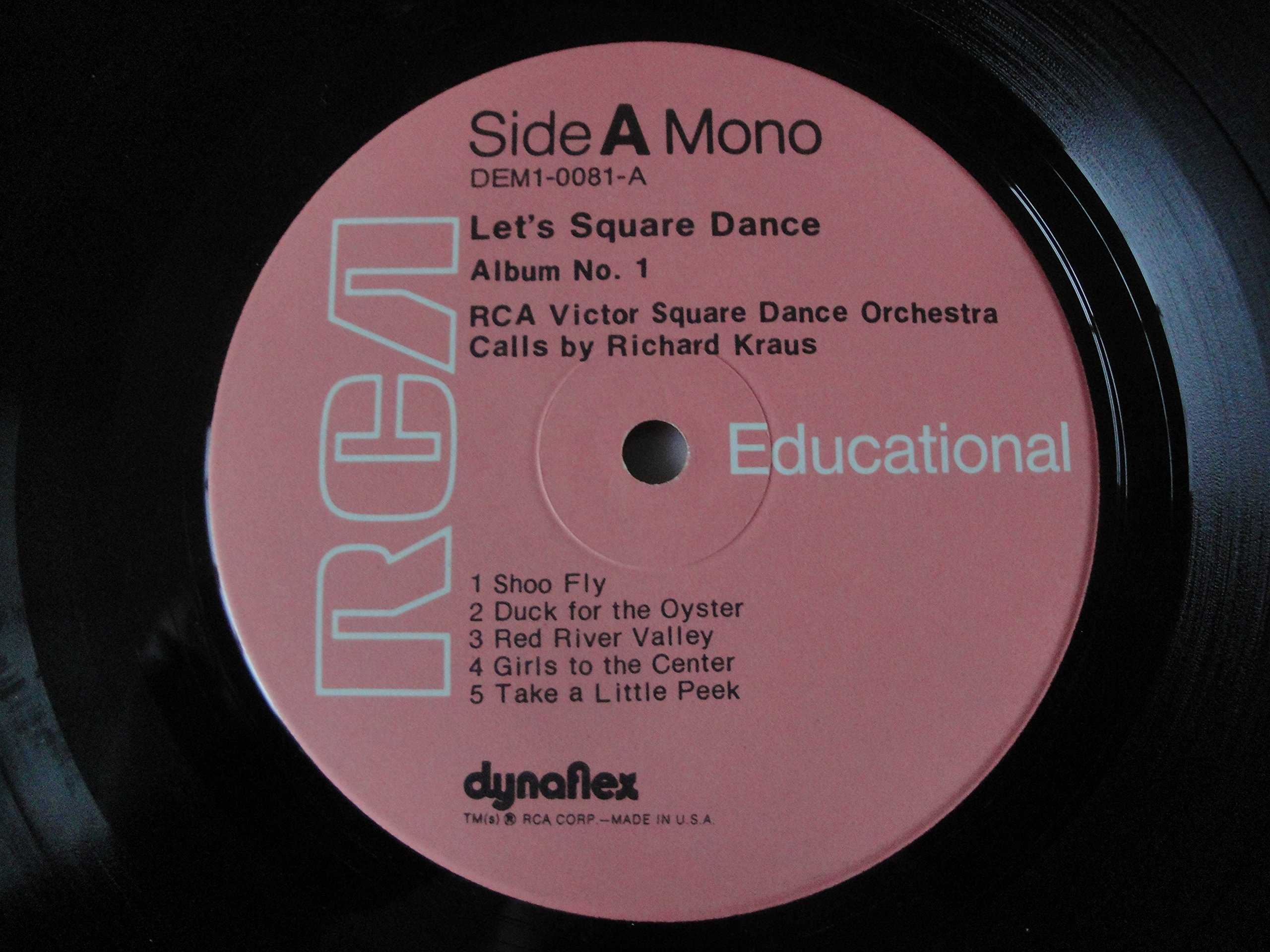 Let's Square Dance! A How-to-do-It Series-Album No. 1 by RCA Victor