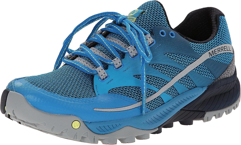 Merrell All Out Charge - Zapatillas de Running de material sintético hombre, azul - Racer Blue Navy, UK Size 12.5 (EU 48, US 13): Amazon.es: Zapatos y complementos