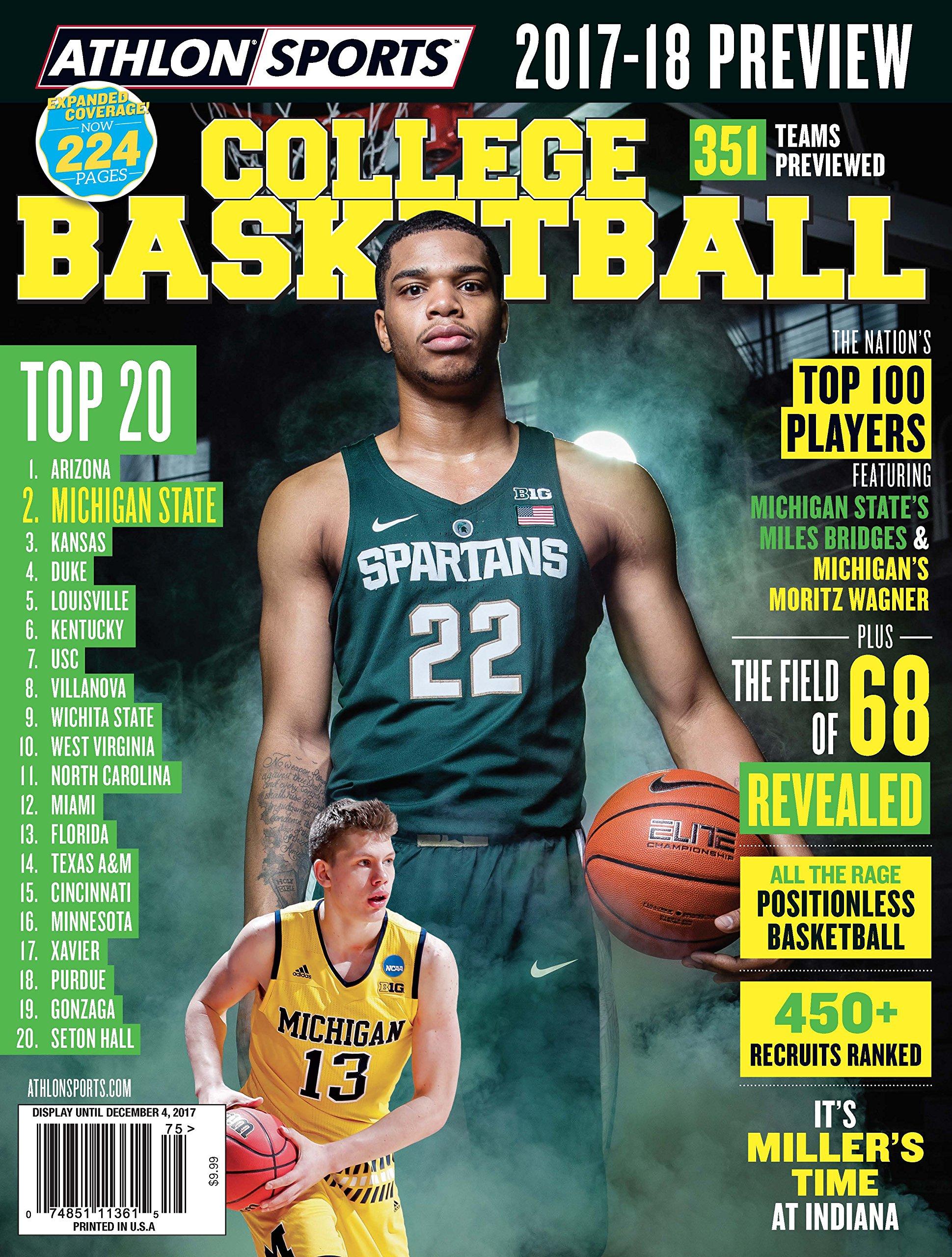 Athlon Sports 2017 College Basketball Michigan State
