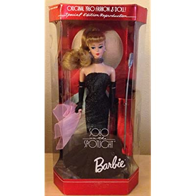 Barbie Solo in the Spotlight 1994 Reproduction New: Toys & Games
