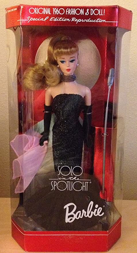 New Barbie Doll Repro Solo In the Spotlight Pink Scarf Only